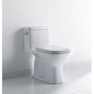 Duravit D-Code 1.28 GPF Elongated Floor Mounted Two-Piece Toilet (Seat Not..