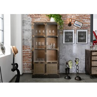 Heavy Industry Curio Cabinet By Massivmoebel24