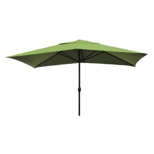 Gries 10' X 6' Rectangular Market Umbrella by Red Barrel Studio Spacial Price