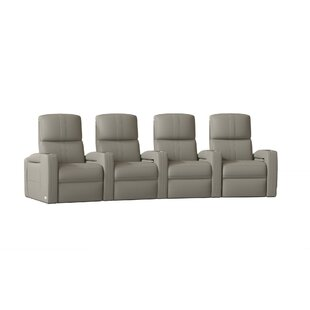 Flash HR Series Home Theater Row Seating Row of 4 by Winston Porter