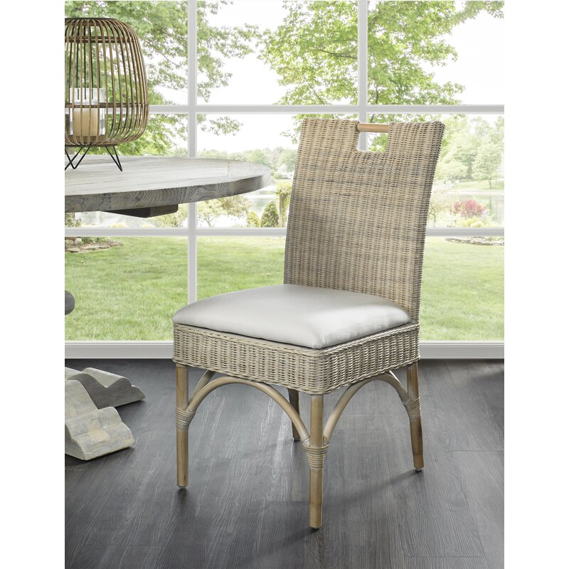 Rosecliff Heights Tenino Side Chair In Whitewash Wayfair