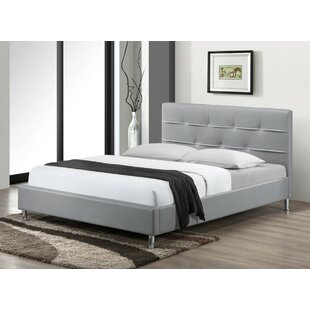 Buy clear Cherwell Upholstered Platform Bed by Wade Logan Reviews (2019) & Buyer's Guide