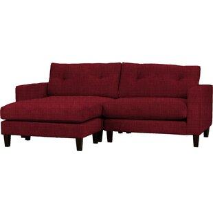 Maya Reversible Corner Sofa By Mercury Row