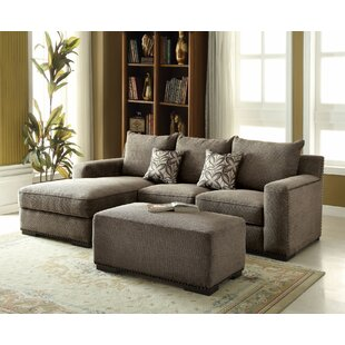 Darby Home Co Finola Sectional with Ottoman