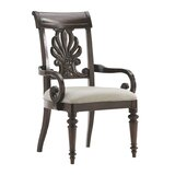 Island Traditions Chester Carved Upholstered Dining Chair by Tommy Bahama Home
