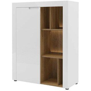 Weinmann Display 1 Door Accent Cabinet by Latitude Run SKU:EB531105 Description