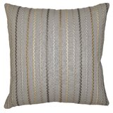 Striped Square Feathers Throw Pillows You Ll Love In 2021 Wayfair