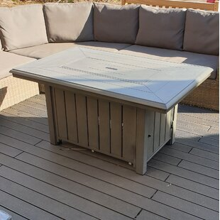 Travie Propane Fire Pit Table By Sol 72 Outdoor