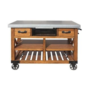 Haywa Kitchen Cart Loon Peak