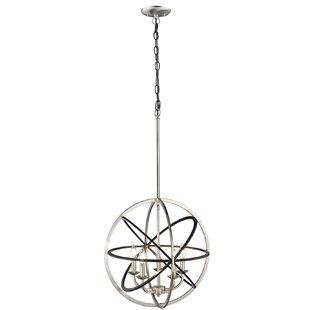 Rune 5-Light Globe Chandel..