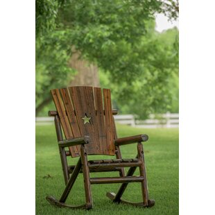 Char-Log Star Single Rocking Chair II Leigh Country