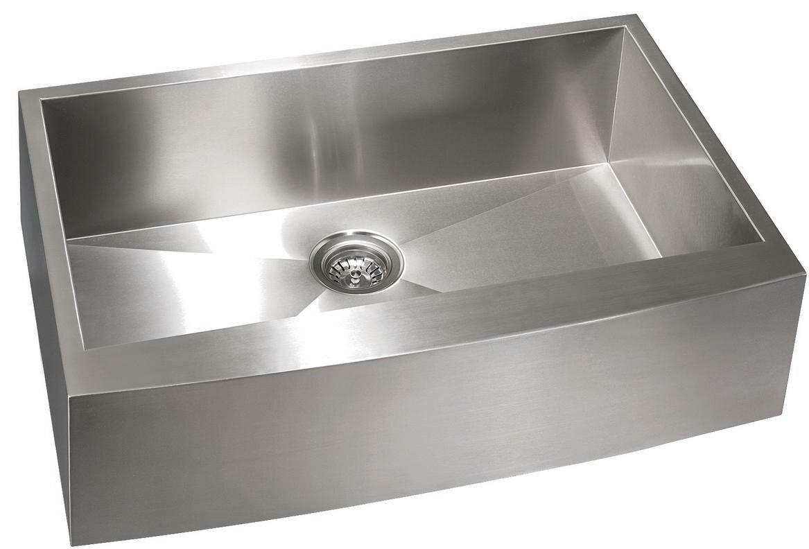Lenova Apron 33 L X 22 W Farmhouse Apron Kitchen Sink Wayfair