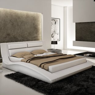 Wade Logan Galeton Upholstered Platform Bed