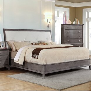 Tanya Upholstered Panel Bed