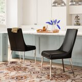 Niantic Upholstered Parsons Chair (Set of 2) by Orren Ellis