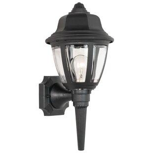 Outdoor torch lights wayfair gettinger 1 light outdoor sconce workwithnaturefo