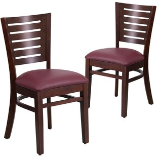 Lauren Upholstered Dining Chair (Set of 2) Red Barrel Studio