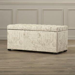 Charlton Home Ander Upholstered Storage Bench