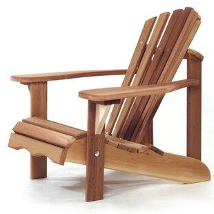 Western Red Cedar Child Solid Wood Adirondack Chair by All Things Cedar