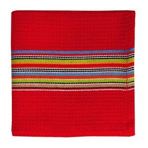 12 Piece Waffle Stripe Dishcloth and Towel Set