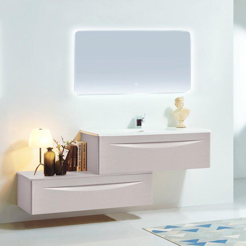 Wall Mounted Single Bathroom Vanity