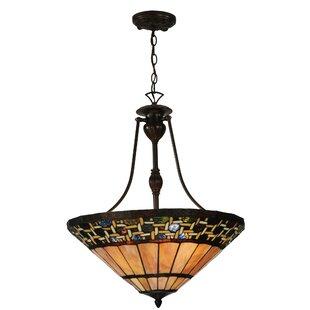 Meyda Tiffany Ilona 3-Light Bowl Pendant