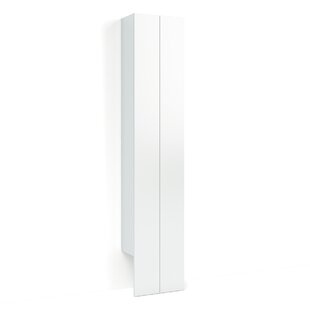 40 x 198cm Wall Mounted Tall Bathroom Cabinet by Svedbergs