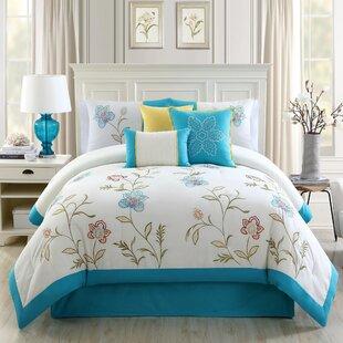 Elight Home 7 Piece Comforter Set