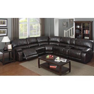 E-Motion Furniture Christopher Reclining Sectional Collection