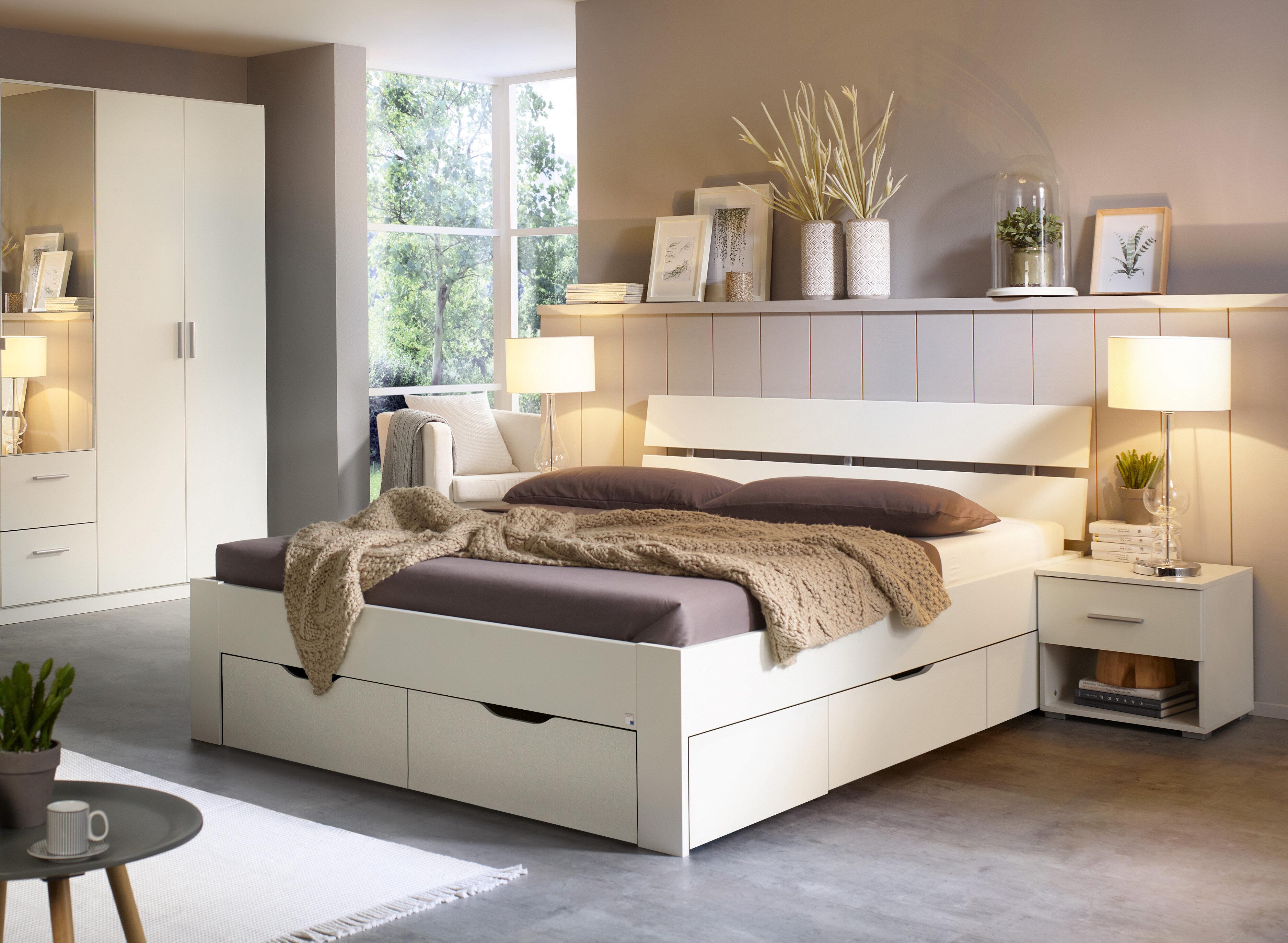 2-tlg. Schlafzimmer-Set Ryba, 180 x 200 cm