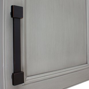 Squared-Edged Cabinet 5 Center Bar Pull by GlideRite Hardware