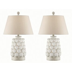 Jace Seashell 25.5 Table Lamp (Set of 2)