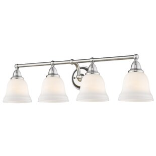 Read Reviews Filey 4-Light Vanity Light By Charlton Home