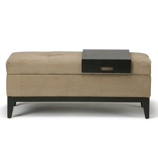 Minster Tufted Storage Ottoman by Wrought Studio