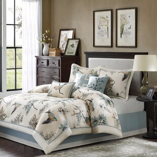 Darby Home Co Silvia 180 Thread Count 100% Cotton Comforter Set