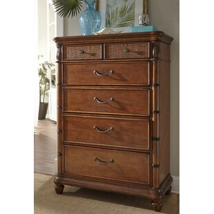 Panama Jack Home Isle of Palms 5 Drawer Chest