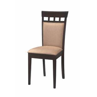 Hoehn Back Panel Upholstered Dining Chair..