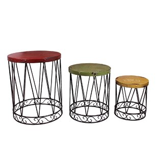 Nesting Tables Youll Love Wayfair - 3 piece nesting coffee table
