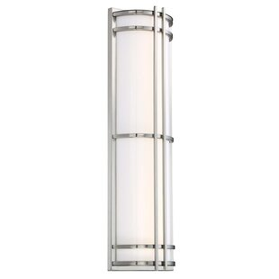 Skyscraper LED Outdoor Sconce by Modern F..