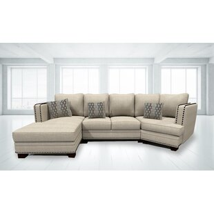Aundrea Reversible Sectional Darby Home Co