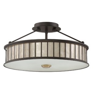 Gracie Oaks Skip 4-Light Semi Flush Mount
