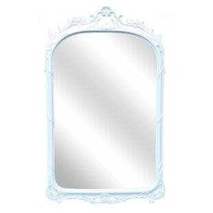 One Allium Way Beveled Glass Accent Mirror