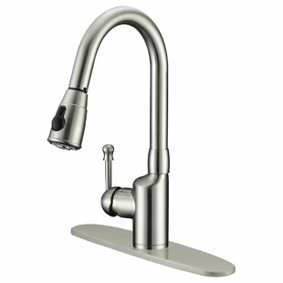 LessCare Pull Out Single Handle Kitchen Faucet