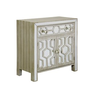 Hamill Distressed Wood 2 Door Accent Cabinet by Mercer41