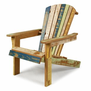 Charlize Reclaimed Solid Wood Adirondack Chair