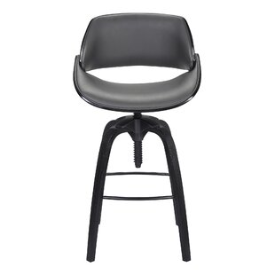 Farrington Adjustable Height Bar Stool by George Oliver
