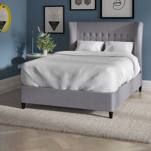 Silke Upholstered Bed Frame By Brayden Studio