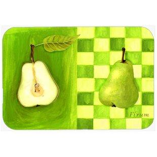 Pear Glass Cutting Board