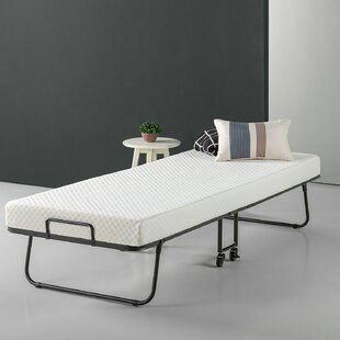 Gerth Smart Guest Folding Bed with Mattress by Alwyn Home