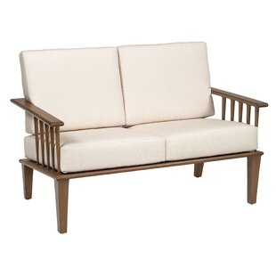 Van Dyke Love Seat by Woodard